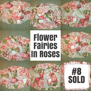 Sweet Garden Flower Fairies Facemask
